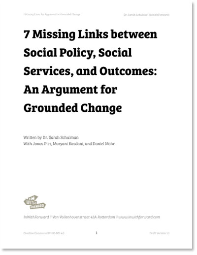 7 Missing Links: An argument for Grounded Change